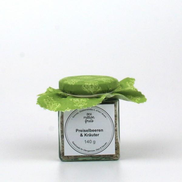 Gewürzsalz Preiselbeere Kräuter