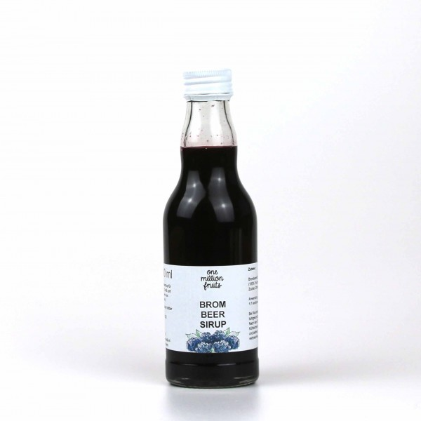 Brombeer Sirup