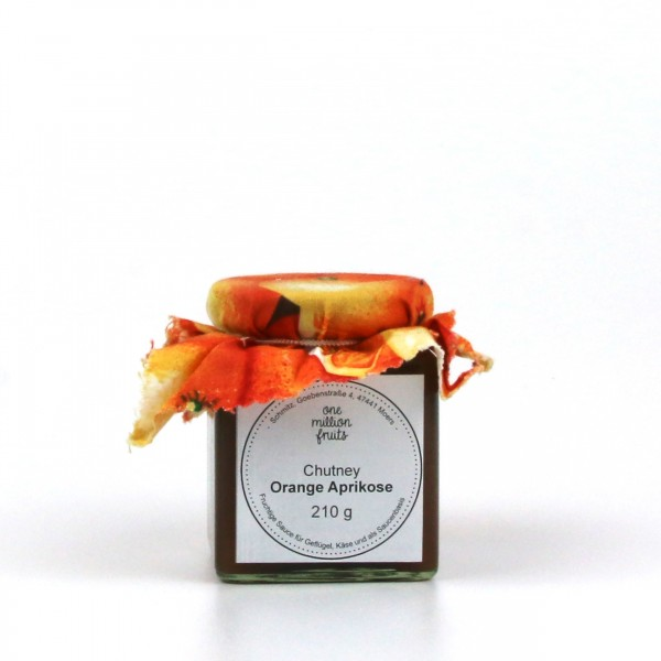 Orange Aprikose Chutney