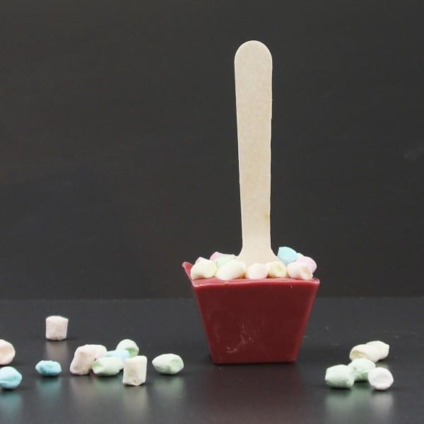 Trinkschokolade Ruby mit Minimarshmallows