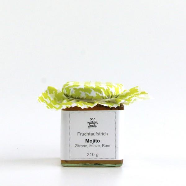 Mojito Fruchtaufstrich mit Zitrone, Limette, Minze & Rum