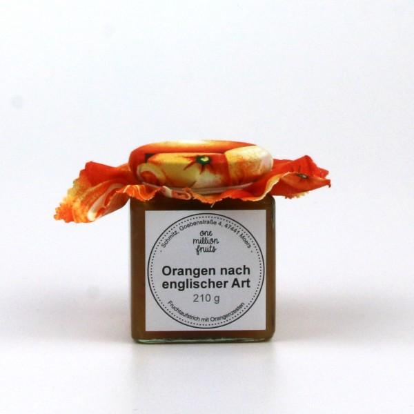 Orange (nach englischer Art) Fruchtaufstrich