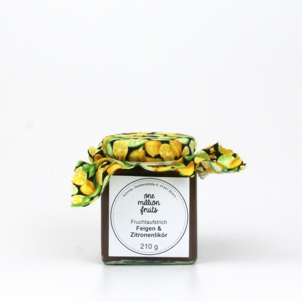 Feige Zitronenlikör Fruchtaufstrich