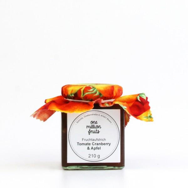 Tomate Cranberry Apfel Fruchtaufstrich