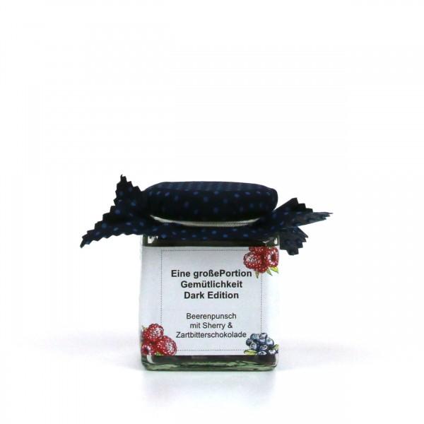 Eine Portion Gemütlichkeit - Dark Edition - Beeren & Zartbitterschokolade