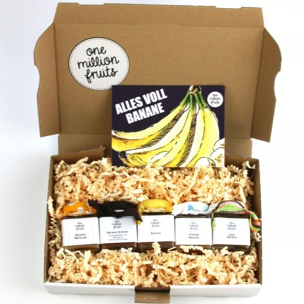 """""""ALLES VOLL BANANE"""" Aufstriche mit Banane"""