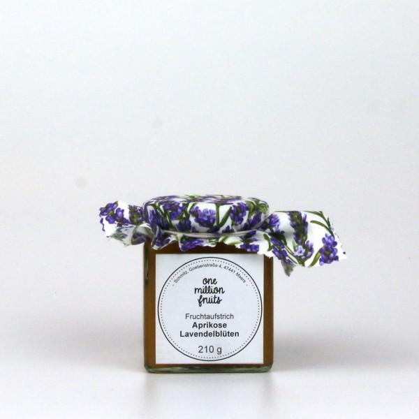 Aprikose Lavendel Fruchtaufstrich