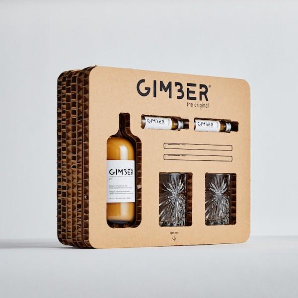 GIMBER - Die Premium Ingwer Essenz Geschenkebox