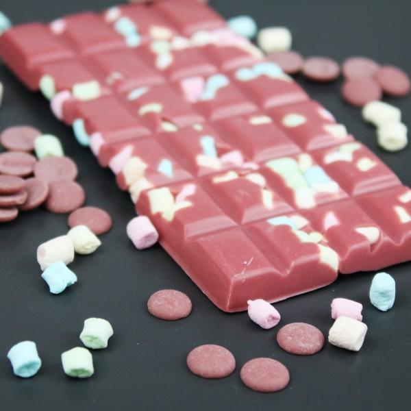 Ruby Schokolade mit Minimarshmallows