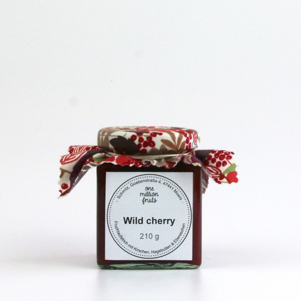 Wild Cherry - Fruchtaufstrcih mit Kirsche, Hagebutte & Eberesche