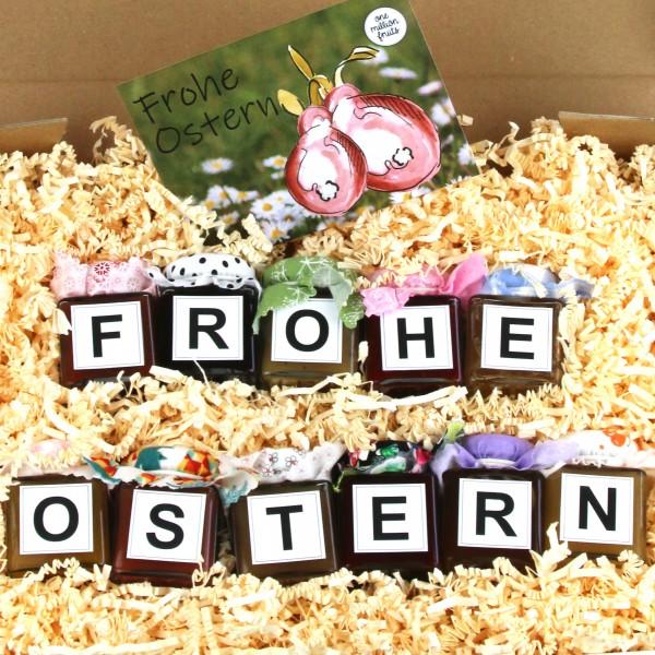 """""""Frohe Ostern"""" Fruchtaufstriche"""