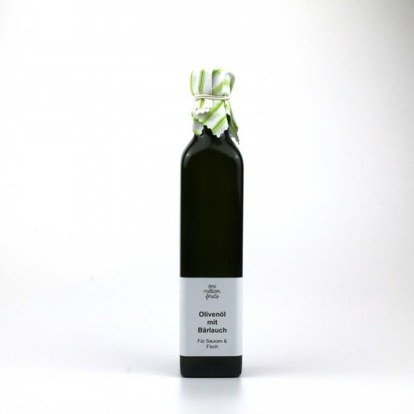 Olivenöl mit Bärlauch