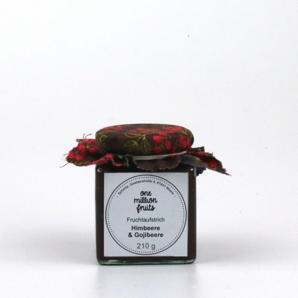 Himbeere Goji Fruchtaufstrich