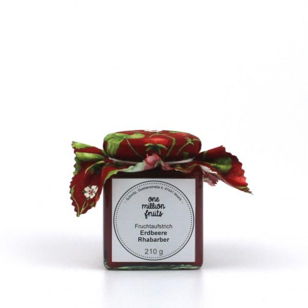 Erdbeere Rhabarber Fruchtaufstrich