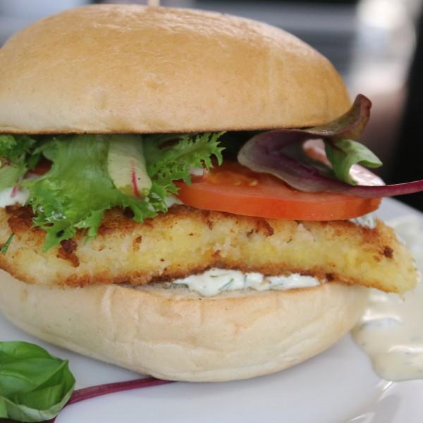 Crispy-fishburger